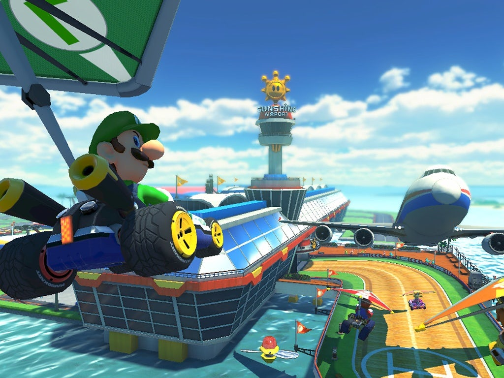 Luigi pogled smrti: vi uživate u Mario Kart 8?